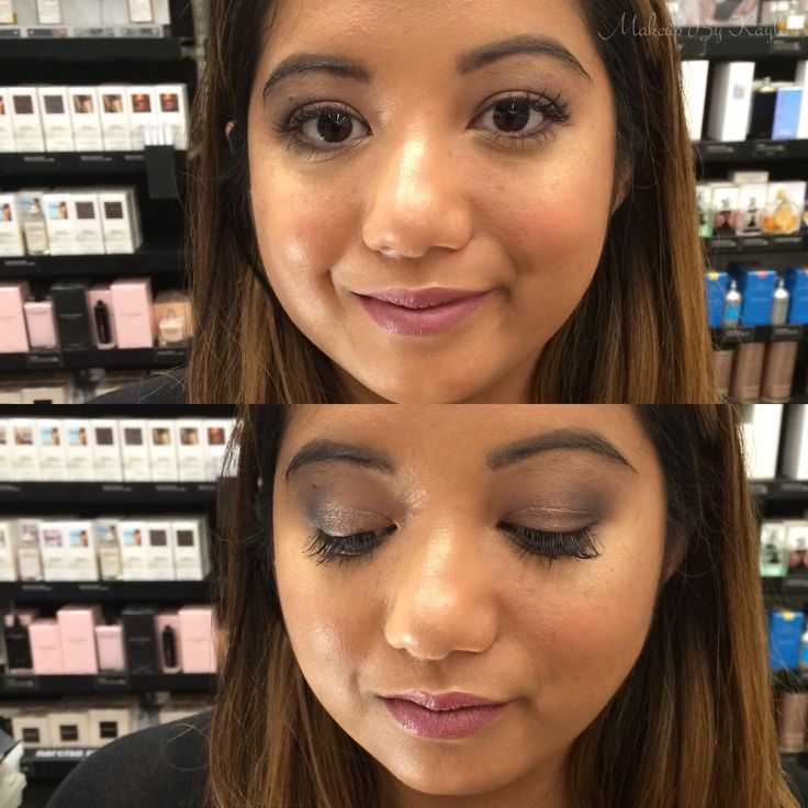 Makeup look for a night out with friends