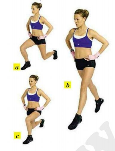lunge split jumps | Fighting Fit - Best Shape Ever This Summer (Part 2) - The knowledge ...