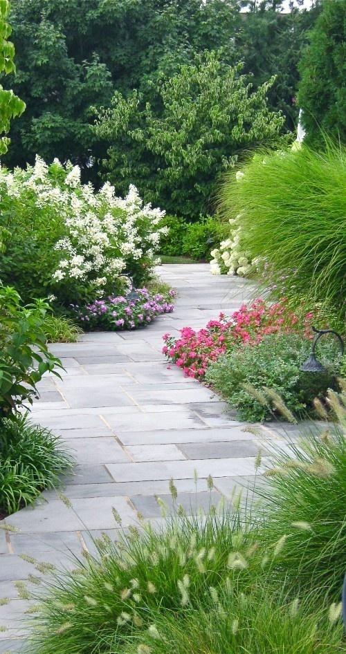 Garden path.