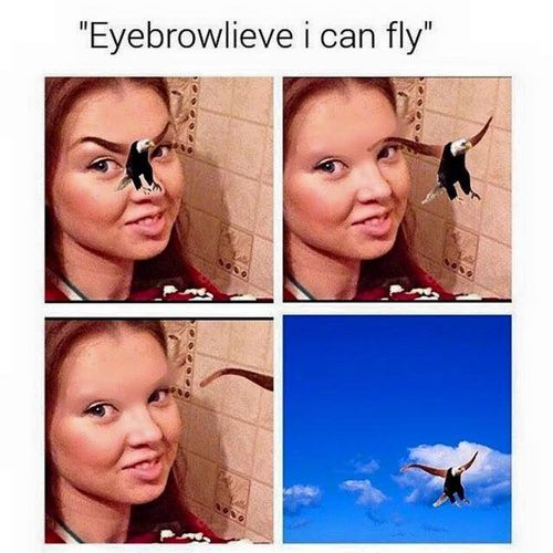 Image de funny, eyebrows, and lol