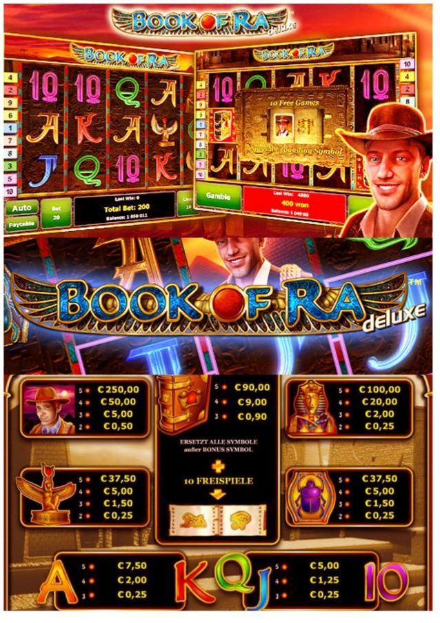 gaminator slots book of ra deluxe