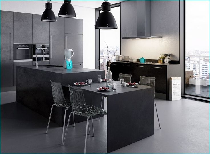 Stunning Black Kitchens-Have a look on it and download !