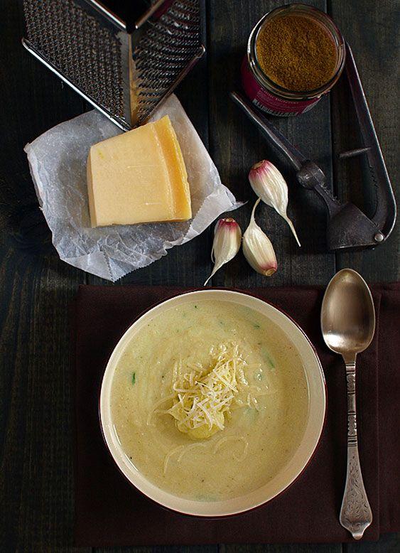Zupa kalafiorowa - kremowa i aromatyczna