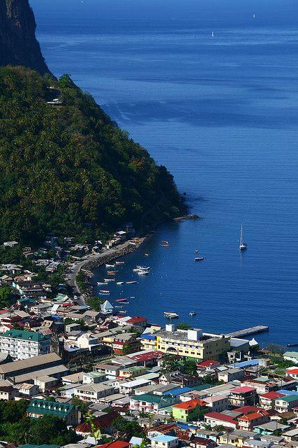 Soufriere - An Idyllic Little Town - St. Lucia