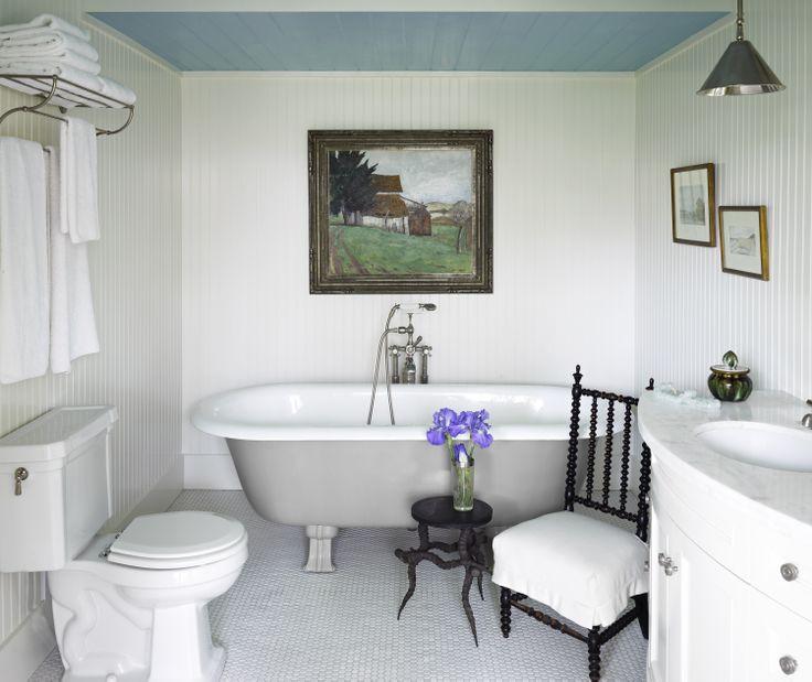 Beadboard Walls In Bathroom: Pin By Amy-Lynne Darling On Baths