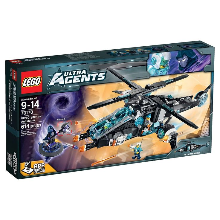 LEGO� Agents UltraCopter vs. AntiMatter 70170