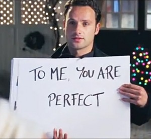 Walking Dead Fans - recognize Andrew Lincoln in Love Actually? Man just gets more delicious with age!