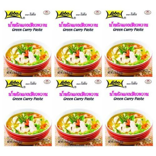 6x50g Lobo Green Curry Paste Thai Soup Recipe Menu Flavor Spicy Instant Food  Price:US $13.99  http://www.ebay.com/itm/162094861710  #ebay #Thailandfantastic #Paypal #Lobo #Green #Curry #Paste #Thai #Soup #Recipe #Menu #Flavor #Spicy #Instant #Food #Home #Garden #Beverages #Spices #Seasonings #Extracts