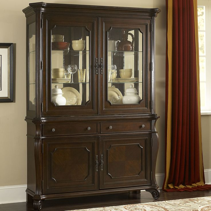 70 best images about china cabinet on pinterest for Küchenbuffet vintage