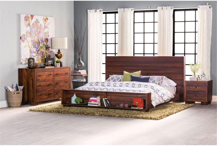Quinn Full Platform Bed - Signature | Living Spaces