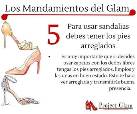 Mandamiento del Glam 5