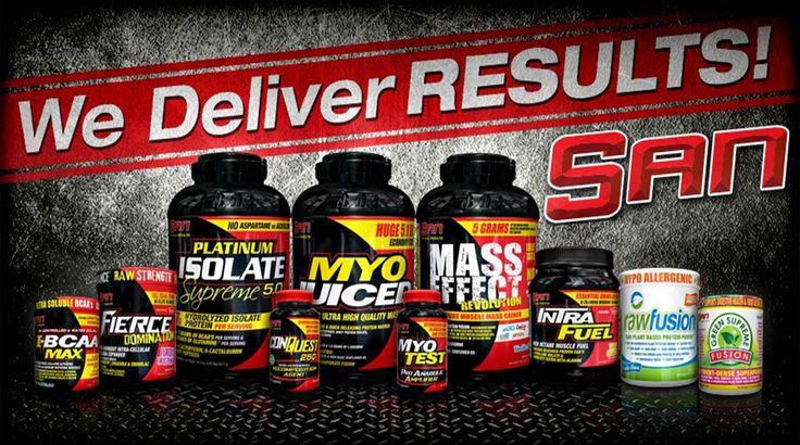 San Nutrition the ultimate power of professional