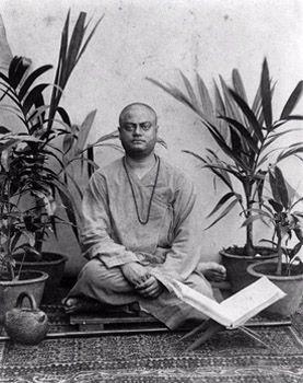 Swami Vivekananda Madras1897Sitting