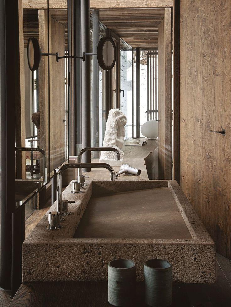 A modern chalet in Austria  Bathroom InteriorBathroom IdeasDesign ...