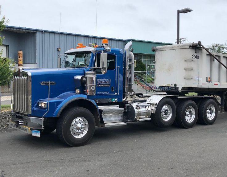 Kenworth t800h dump trucks trucks dump trailers