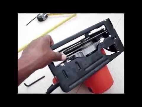 como fabricar mesa para sierra circular casera