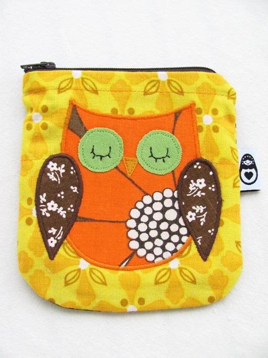 Owl coinpurse www.delfiadesign.com www.facebook.com/Delfiadesign