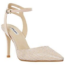Buy Dune Chelsee Pointed Toe Two Part Court Shoes Online at johnlewis.com