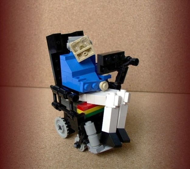 Stephen Hawking | 24 Unexpectedly Awesome Lego Creations