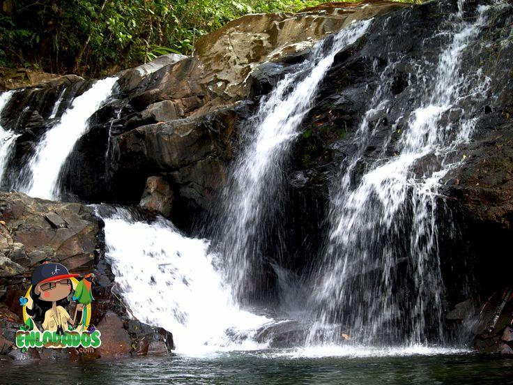 Cascadas y Cuevas de Cacao, Capira.   ENLODADOS