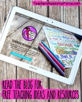 Teachers Resource Force - teaching blog for character education and wellbeing!