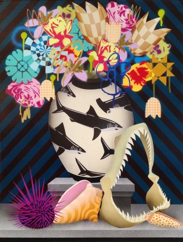 Via Live Fast Mag: The Great West Coast Migration - Art Benefit for Sharks & Oceans - Events & Openings