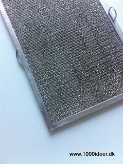 Rengøring af filtre til emhætten