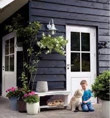... Potdekselen: witte gedeelte en tussenstuk huis