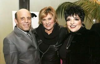 Judy Garland's youngest child son Joey Luft and his sister Lorna Luft with their older half sister Liza Minnelli.