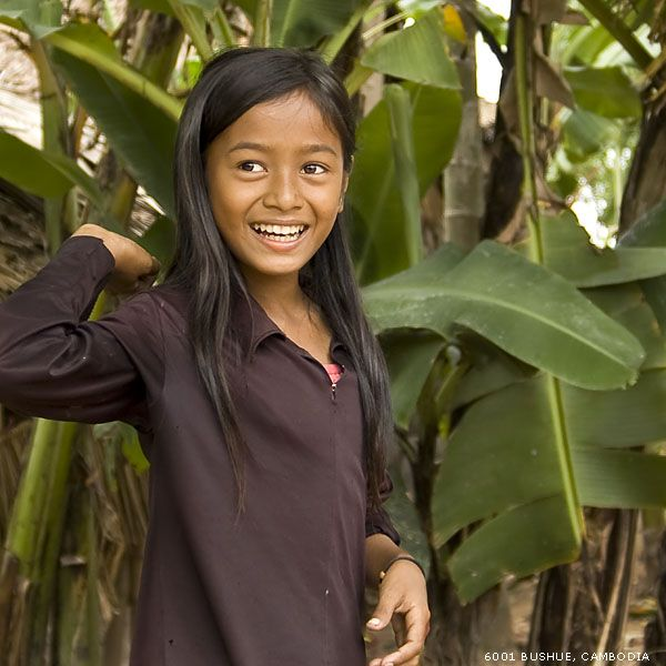 Portrait of Cambodia by mjbeng on DeviantArt A young girl in a remote Cambodian village