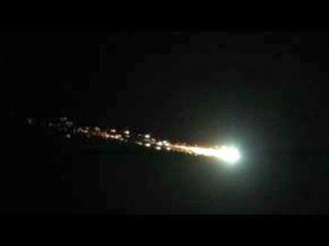 Meteorite Centro e Nord Italia (video)