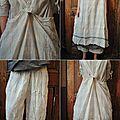 Mlle ludivine : robe tablier madras pantalon madras chemise en voile de coton ewa iwalla