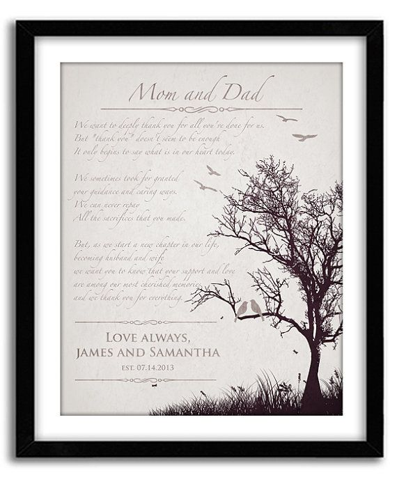 Wedding Gifts For Bride And Groom In The Philippines : day gifts wedding gifts for parents parent wedding gifts personalized ...