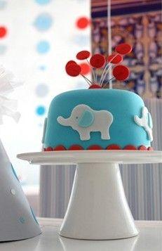 adorable edible elephant cake :-)
