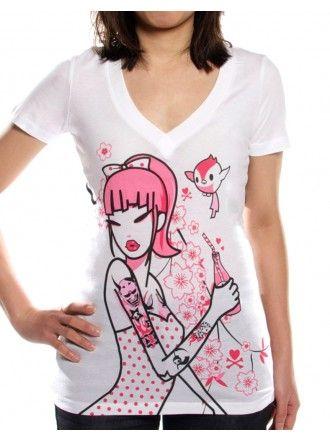 Pink Drink Tee #tokidoki #tee #pink