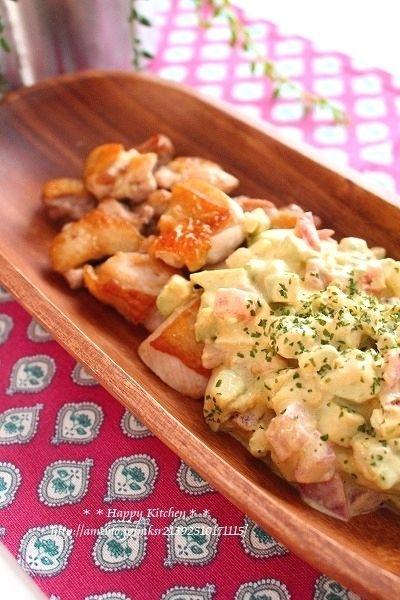 アボカドとトマトのタルタルソースでチキンソテー by たっきーママ ...