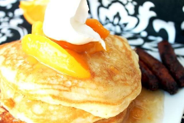 ... pancakes food pancakes waffles pancakes peach cobbler pancakes