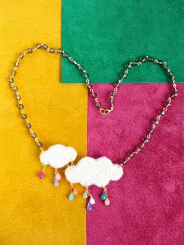 100+ amazing jewelry from felt!   Do it yourself - Construction DIY - Do it yourself