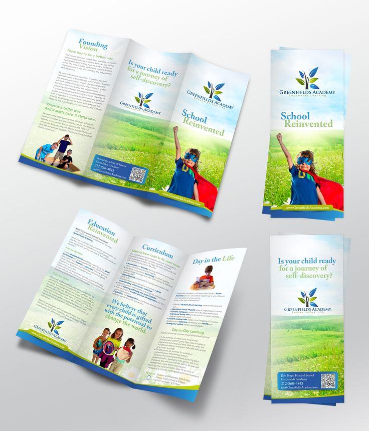 Best Print Material Images On   Brochure Design