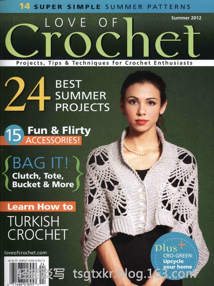 Love of Crochet  Summer 2012 - 轻描淡写 - 轻描淡写
