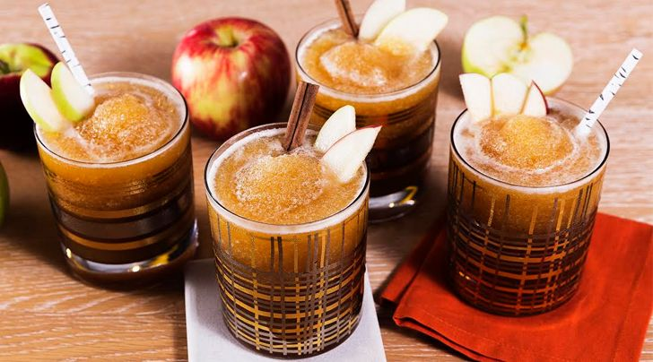 Boozy Cider Slushies Are the Best Thing Thats Ever Happened to Fall
