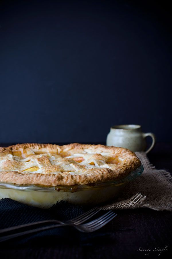 Nectarine pie is a sweet, tangy summer treat with seasonal fruit and a flaky, tender crust.