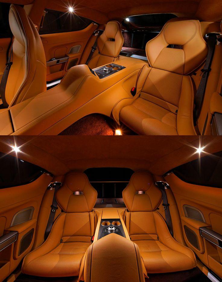 Aston Martin Rapide Interior                                                                                                                                                                                 More