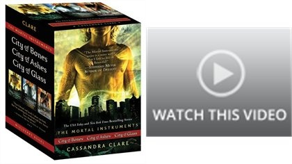 """The Mortal Instruments"" box set 1 - 3 by Cassandra Clare  (Already read)"