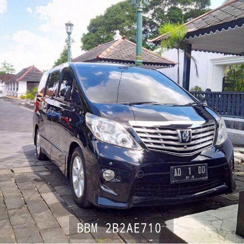 Rental Mobil Alphard Solo, Sewa Mobil Alphard di Surakarta Harian Pakai Sopir dan Bahan Bakar