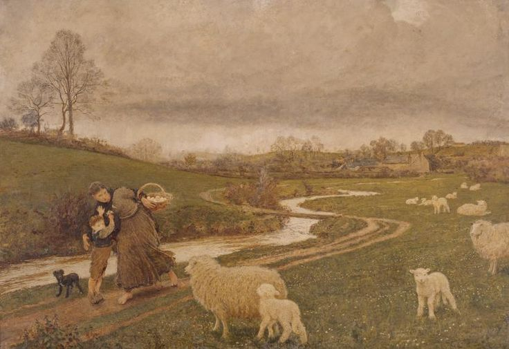The right of way   Frederick WALKER   NGV   View Work