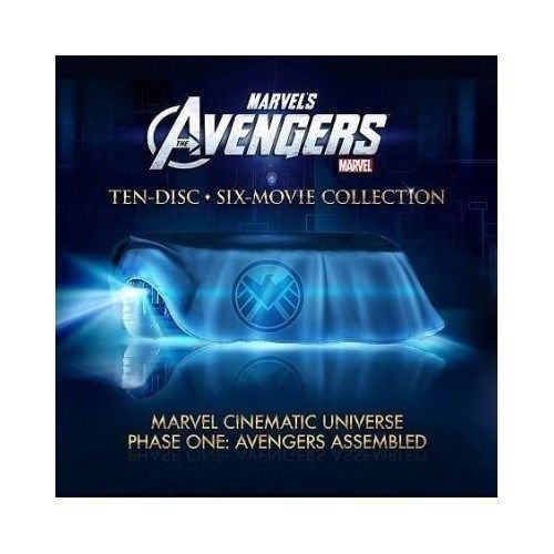 MARVEL CINEMATIC UNIVERSE: PHASE ONE - AVENGERS ASSEMBLED - NEW BLU-RAY BOXSET