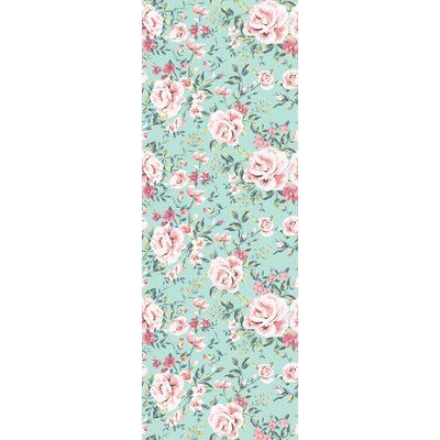 House of Hampton Chan Removable Vintage Nursery Floral 4