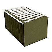 Buy Staples® Hanging File Folders, 5-Tab, Letter, Standard Green, 50/Box (266262) at Staples' low price, or read customer reviews to learn more.
