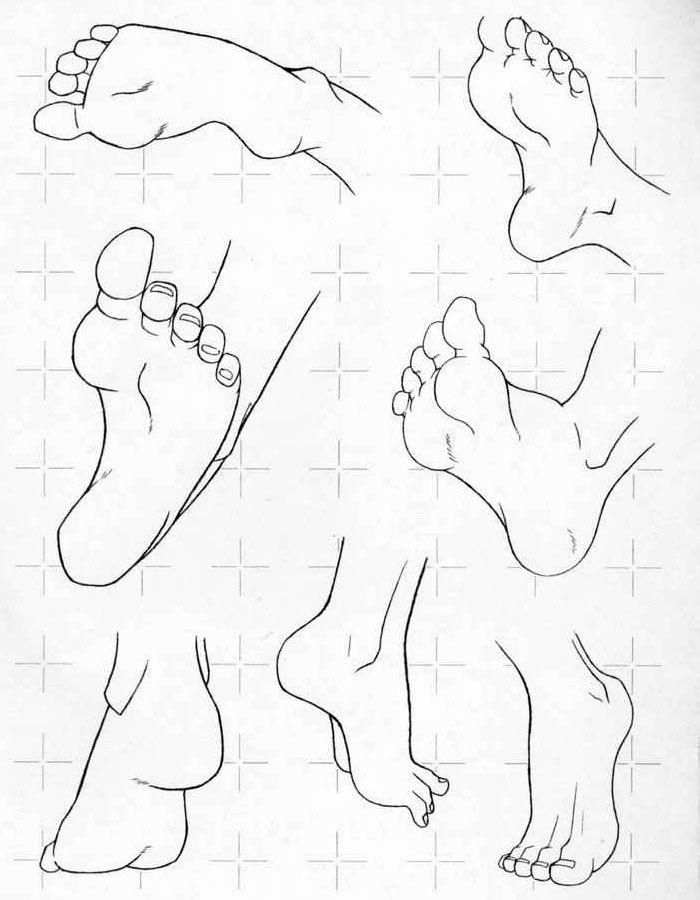 Рисуем ноги и руки в разных ракурсах | Ani-Tech: Рисуем аниме и мангу